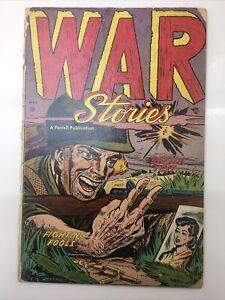 War Stories  #4 FARRELL golden age korean war cover classic