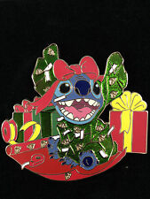Disney DisneyStore.com - Christmas Gift Stitch Pin LE 125