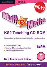 Mult-e-Maths Teaching CD-ROM 5: New Framework Edition, Straker, Anita, Harrison,