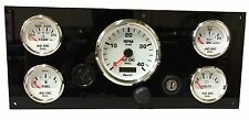 Diesel Marine Gauge Panel | Boat Engine PANEL | Fully wired 100% USA Made