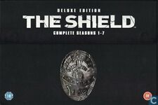 The Shield komplette Seasons 1-7 Deluxe Edition DVD Boxset Marke Versiegelt PAL