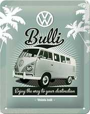VW CAMPER VAN Metal Signs VW BULLI  Vintage Tin Sign Retro METAL POSTCARD