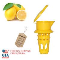 EcoJeannie Citrus Tap, Portable Lemon Juicer Faucet (Patent Pending)
