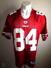 M REEBOK SAN FRANCISCO 49ERS JERSEY NFL FOOTBALL SHIRT S.F. USA CARTER #84 RARE!
