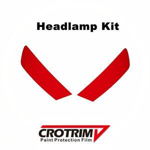 Pro Paint Protection Film Headlamp Kit 2pcs For Audi Q7 2016-2019