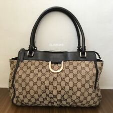 Pre Owned Authentic GUCCI GG Canvas Shoulder Bag