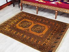 155x112 cm antik orient Nomaden Teppich Turkmen Ersari bukhara Carpet Rug NR17/8