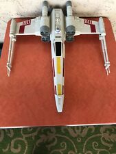 """Hasbro Star Wars Giant X-Wing Fighter Ship R2D2 Toy Large 29"""" Used"""