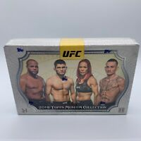 2018 Topps UFC Museum Collection Factory Sealed Hobby Box (adesanya rookie year)