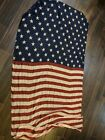 Large American Flag women Scarf Body wrap Patriotic America Claires