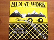 MEN AT WORK 1981 vinyl LP BUSINESS AS USUAL