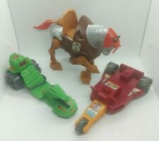 MOTU He-Man Masters of the Universe Ripper Stridor Laser Bolt vehicle horse Lot