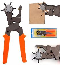 Pro Hole Pliers Punch Tool Heavy Duty Leather Hand Belt Holes Punches Pincers