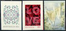Australie 2011 Amour Timbres Adhésif Lot de 3 Non montés excellent état, MNH