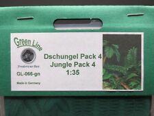 GreenLine Jungle Pack 4 - GL066 - laser cut jungle plants - 1:35 diorama scenery