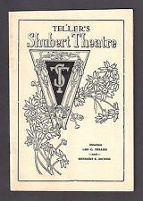 "Francine Larrimore ""CHICAGO"" Irene Jones / James Coyle 1928 Brooklyn Program"