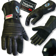 GANTS MOTO CUIR NOIR HIVER INSERT ALU/ THINSULATE NEUFS MODELE CAPSUD TAILLE XXL