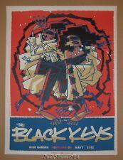 Black Keys Guy Burwell Portland Concert Poster Print Signed Numbered 2012