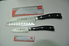"Wusthof Classic Ikon 2pc Asian Cook's Set - 5"" Santoku & 3"" Paring"