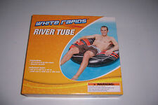 WHITE RAPIDS RIVER TUBE INFLATABLE SWIMMING POOL FLOAT LOUNGE NEW