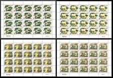 Jordan WWF Arabian Oryx 4 Full Sheets of 20 stamps MNH SG#2088-2091 MI#1858-1861
