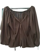 Brown Gypsy Top