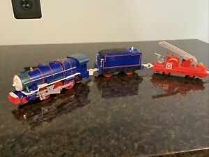 THOMAS FRIENDS TRACKMASTER MOTORIZED HIT TOY CO. HANK WITH LADDER CARGO CAR