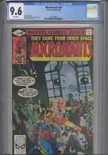 Micronauts #18  CGC 9.6 1980 Marvel : Fantastic Four App:New Frame