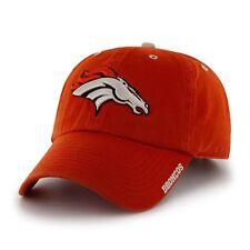 8033b2a75a5f1 Denver Broncos 47 BRAND NFL Clean up Ice Adjustable Hat - Orange