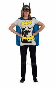 batgirl Tshirt Womens Costume DC comics Marvel Superhero Fancy Dress outfit