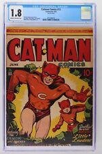 Catman Comics #11 - Continental 1942 - CGC 1.8!