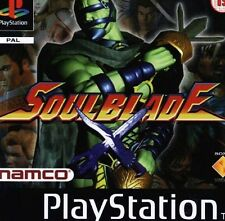 SOULBLADE PS1 PSONE LIBRETTO  PAL VERSION SCANSIONE PDF ITA /BOOKLET SCANSION
