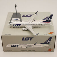JFOX 1:200 LOT POLISH AIRLINES BOEING 737-800 SP-LWA Diecast Airplane Model