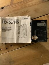 WALKMAN AIWA HS-T55 AM/FM Stereo Radio Cassette Player  Vintage