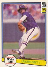 LaMarr Hoyt 1982 Donruss #117 Chicago White Sox baseball card