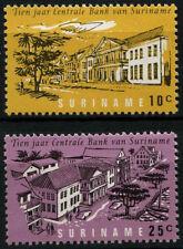 Suriname 1967 SG#611-2 Central Bank MNH Set #D34423