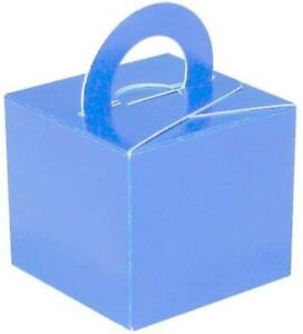 Pale Blue Balloon Weight/Favour/Gift Boxes x 10