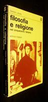Filosofia E Religione Nel Cinquecento Italiano