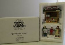 """Department 56 Heritage Village """"City News Stand"""" #5971-4"""