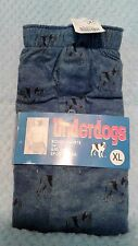 Underdogs Big Dog Sportwear  Boxer Shorts Size XL Elastic Band NWT