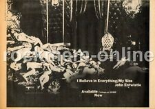 John Entwistle The Who I Believe In Everything/My Size Advert 10/4/71