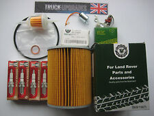 Land Rover Series 2a, 3, 2.25L Petrol Service Kit, Fuel & Oil Filter, Condenser