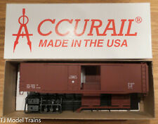 Accurail HO #5398 DATA MIN RED 50' RIVETED COMBO DOOR BOXCAR
