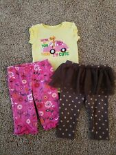 Baby Girl Outfit Size 6 Months, Fall Pants, 6 Month Clothing, Acorns