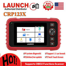 LAUNCH X431 CRP123X Auto Diagnostic Tool OBD2 Code Reader Scanner As CRP123 VII+