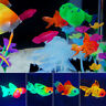 Schwimmende Künstliche Aquarium Goldfisch Silikon Plastikfische Aqua Ornament