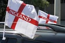 ENGLAND ST GEORGE CROSS CAR FLAGS