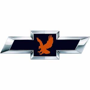 2 Silverado Auburn Eagle Universal Chevy Bowtie Vinyl Sheets Emblem Overlay