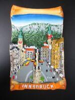 Innsbruck Magnet Annasäule Austria Österreich Fridge Poly Souvenir ,Neu