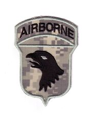 "101st AIRBORNE DIVISION ""ACU Theater Made"" (Fabrication Actuelle)"